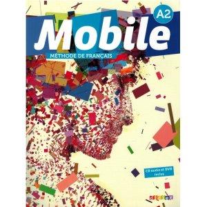 画像1: Mobile A2 - livre de l'élève +cd +dvd