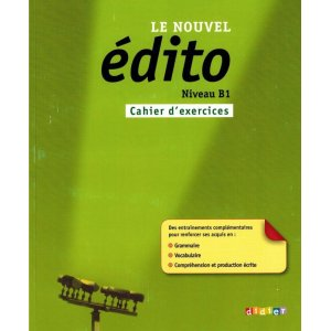 画像1: Le nouvel Edito B1 - cahier d'exercices