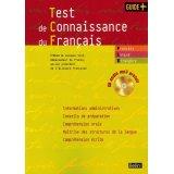 Test de connaissance du français (1CD audio MP3)