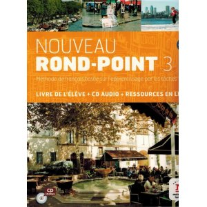 画像1: Nouveau Rond-Point 3 B2 : Livre de l'élève (1CD audio)