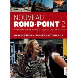 画像1: Nouveau Rond-Point 2. Livre de l'élève + CD audio (B1)