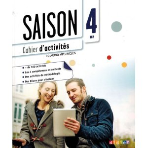 画像1: Saison 4 niv.B2 - Cahier + CD mp3