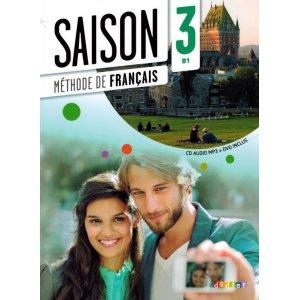 画像1: Saison 3 niv.B1 - Livre + CD mp3 + DVD