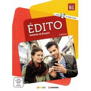 画像1: Édito B1 2. édition. Livre de l'élève + DVD-ROM